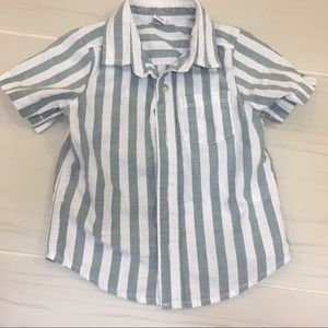 Old Navy stripe button down shirt